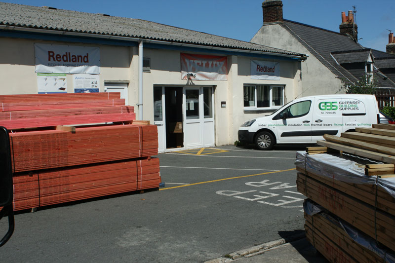 Guernsey Building Supplies Materials At St Peters Port